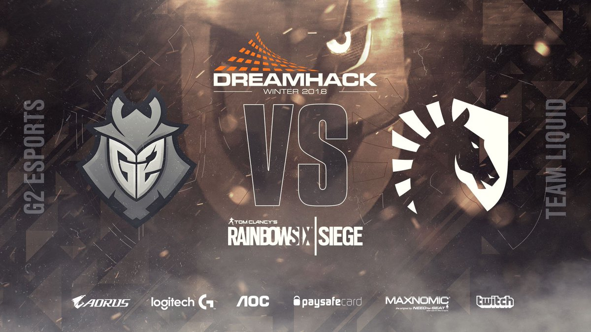 Our R6 Siege team will face off against @TeamLiquid in the quarter-finals at #DHW18   Sadly the game will not be on stream. Stay tuned for results!