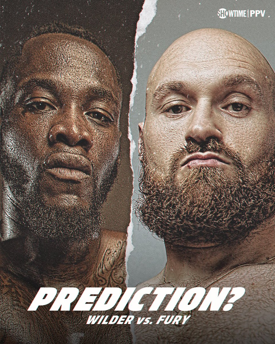 Who will be the last man standing?   #WilderFury TONIGHT 9PM ET/6PM PT: https://t.co/qz57cYneJO https://t.co/S6fh7Fo3G8