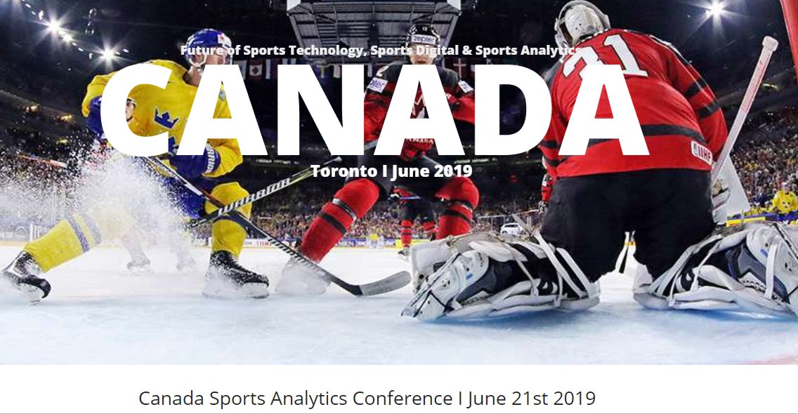 Sports Analytics World Series On Twitter Great News Announcing