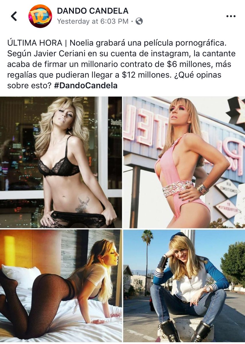 "Acytriz Porno Noelia jose goyco-valentin on twitter: ""vaya a cobrar todo ese"