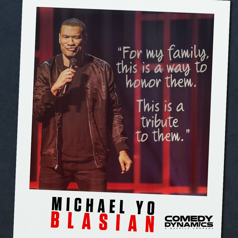 Gather up the fam and enjoy some laughs this weekend with Michael Yo's #Blasian. Available now! http://apple.co/2OPAQT7  . . . . #MichaelYo #YoBlasian #ComedyDynamics #Family #FamilyFirst #StandUp #HoustonsFinest #Hilarious #StandUp