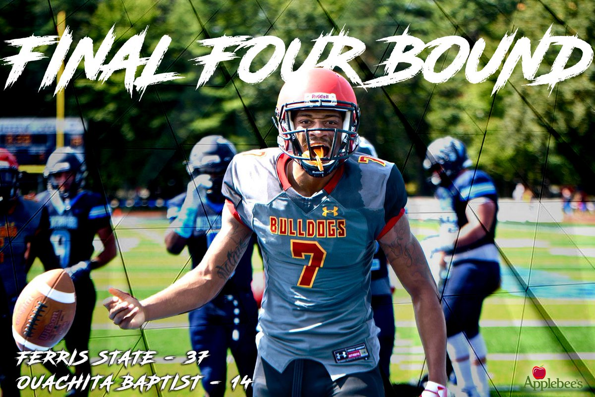 Ferris St Football On Twitter For The Second Time In Three Years