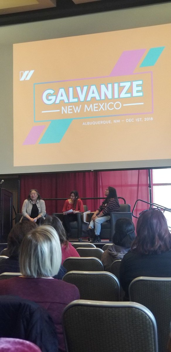 @TinaTchen and young womxn from @genjustice and Cibola High School at @USOWomen #GalvanizeNM