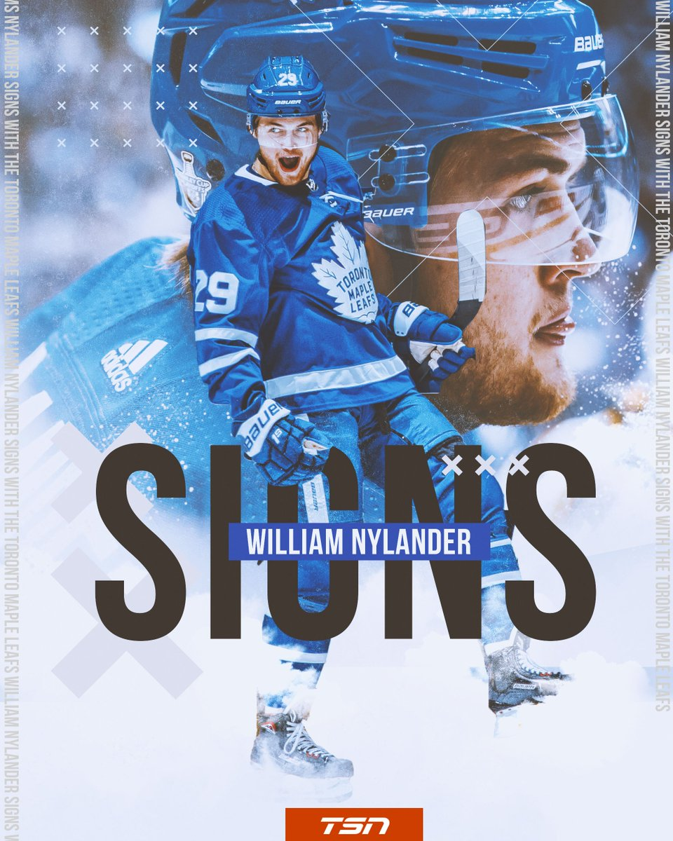 BREAKING: Per , the Toronto Maple Leafs have signed William Nylander, will play with the team this season.