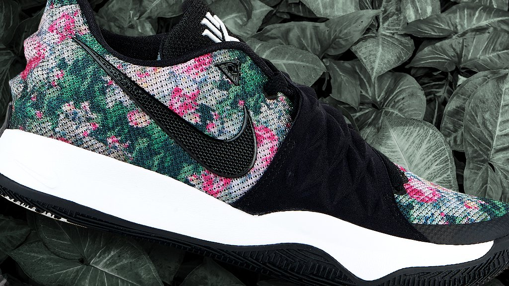 70eb4789748d The  nike kyrie 4 low just dropped in a fresh floral print. who s copping    nike  kyrie