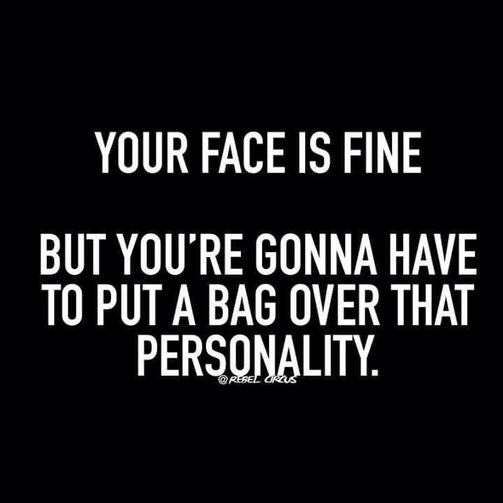 Saturday sarcasm.