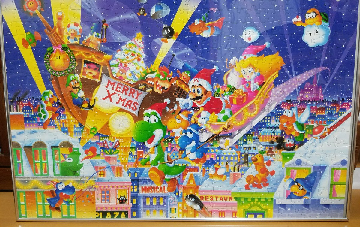 Super Mario World Christmas.Forest Of Illusion On Twitter Christmas Themed Super Mario