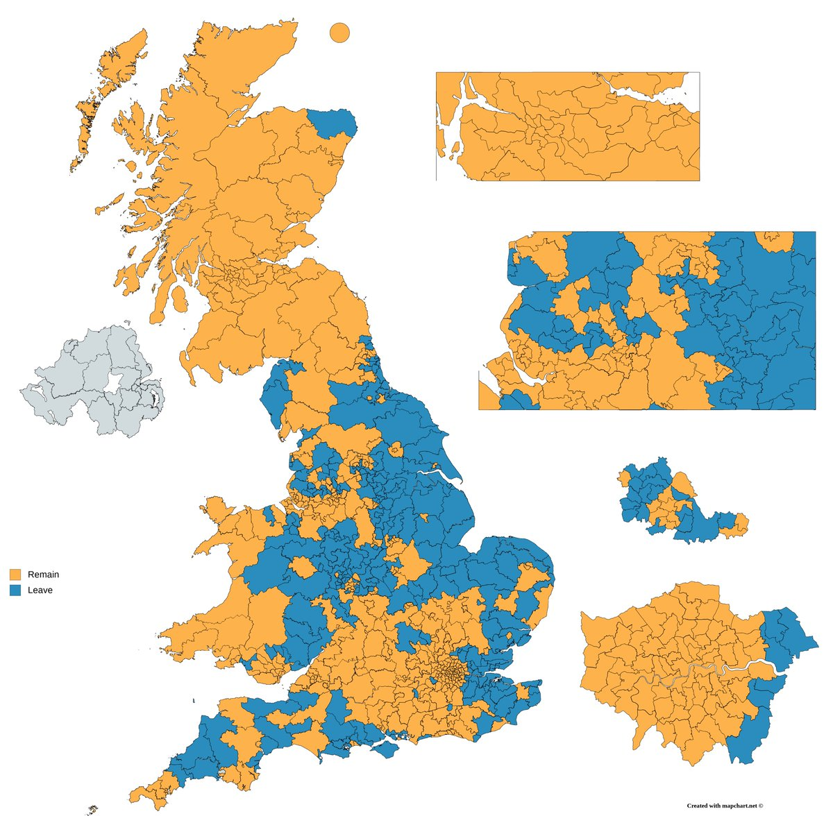 Map Of Uk Mps.Election Maps Uk On Twitter Left Mps Brexit Positions Right