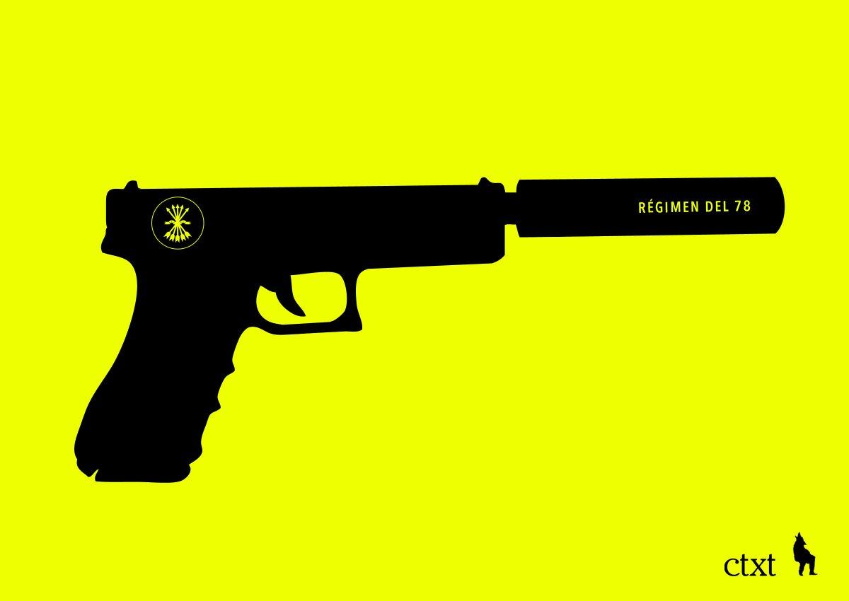 Silenciador. @ctxt_es La Boca del Logo de hoy: bit.ly/2DVoINE