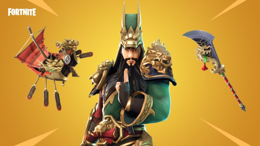 Fortnite On Twitter Become The Dragon The New Guan Yu Gear Is