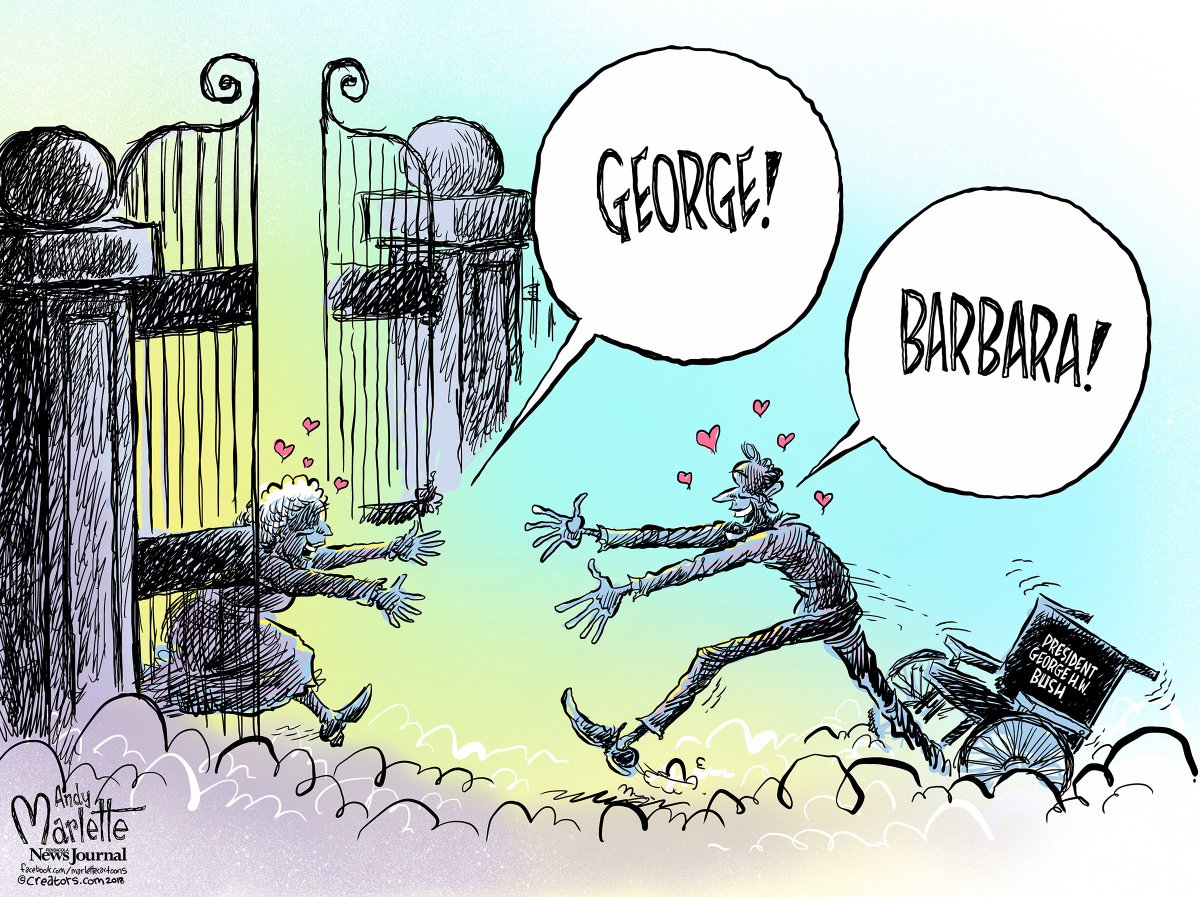 Andy Marlette On Twitter In Tribute President George H W Bush