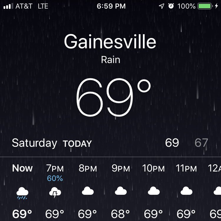 GAINESVILLE universe is tryna tell us something. let's go down down down in gainesville. let's get wet