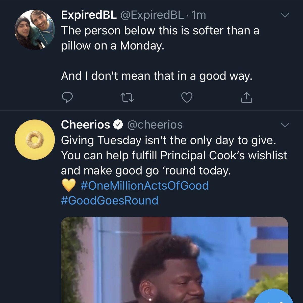 @ExpiredBL CHEERIOS?!
