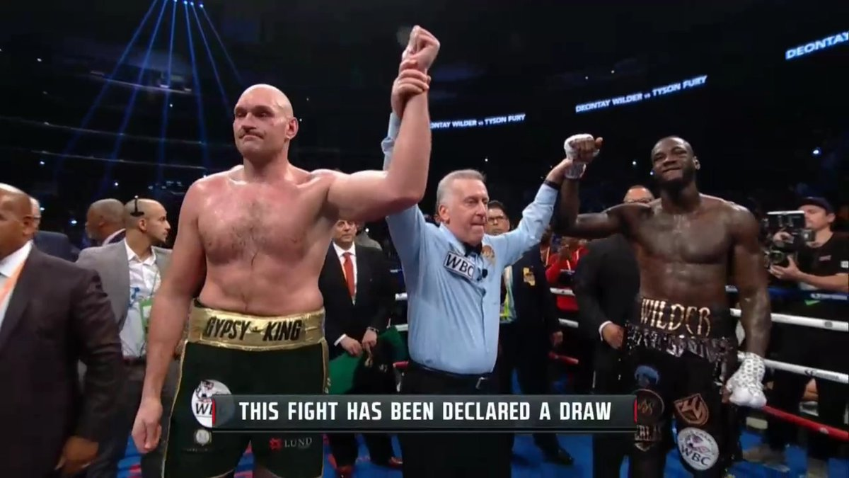 Image result for fury wilder draw