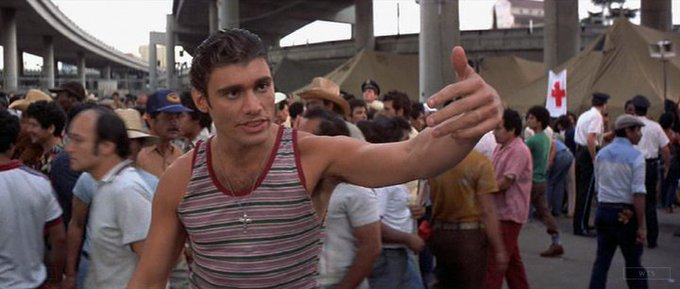 Happy Birthday to Steven Bauer who turns 62 today! Name the movie of this shot. 5 min to answer!