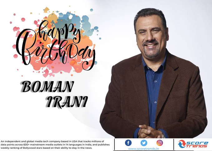 Score Trends wishes Boman Irani a Happy Birthday!!