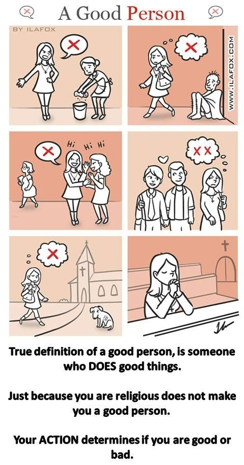 what is the definition of a good person
