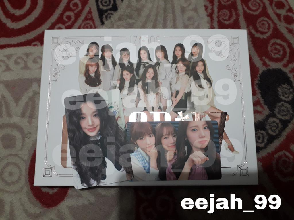 Help rt 🙏🙏 If u have izone album, WTT (photocard