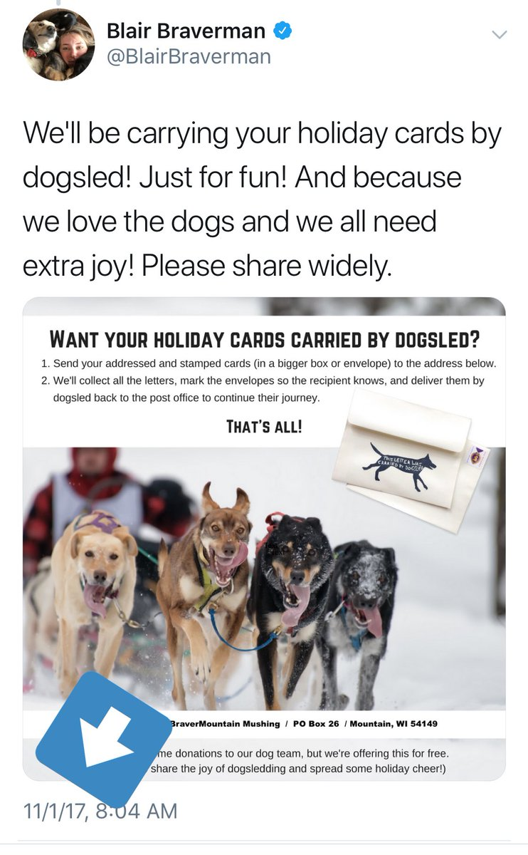 Blair Braverman On Twitter If Want Your Holiday Cards Carried By