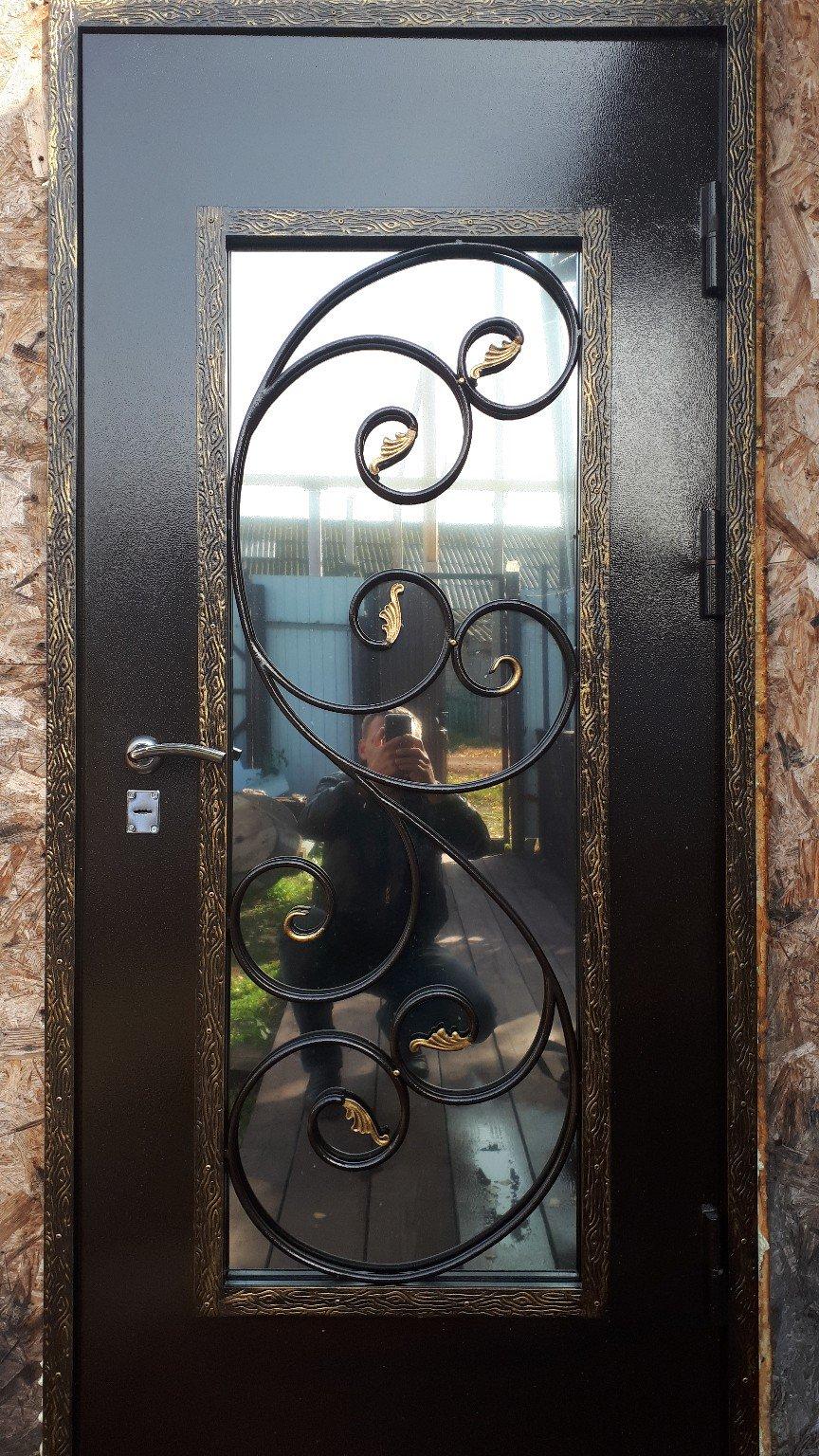 железная кованая входная дверь фото вкус они
