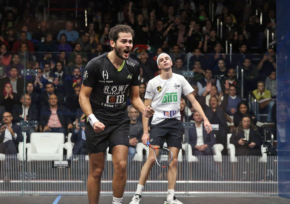 test Twitter Media - RoundUp: @karimabdelgawad beats @AliFarag to become the 2018 @BlackBallSquash champion and deny Farag a chance to top the World Rankings 🏆  Read more here 👉 https://t.co/ohBUnldKnS https://t.co/N5w5vD3ZbY