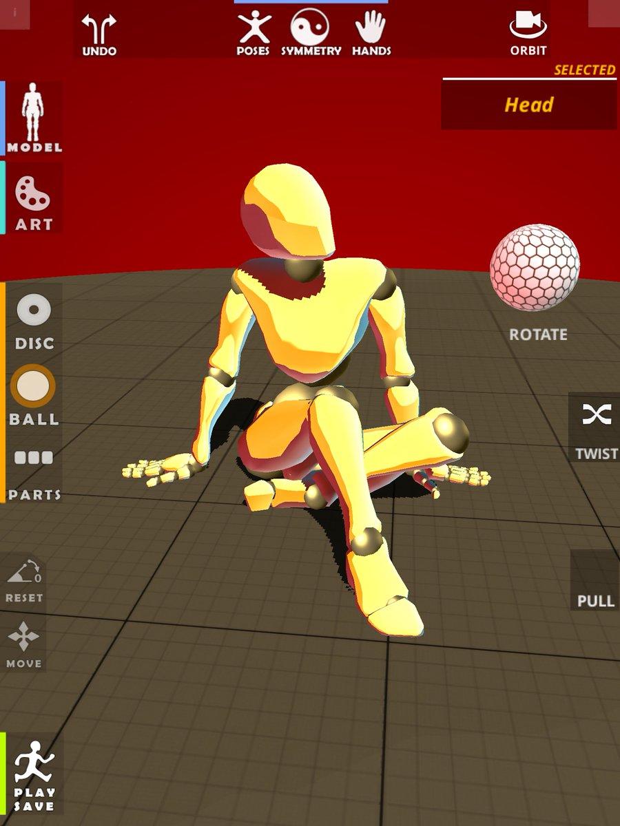 POSETASTIC!' Posing App for Character/Figure art