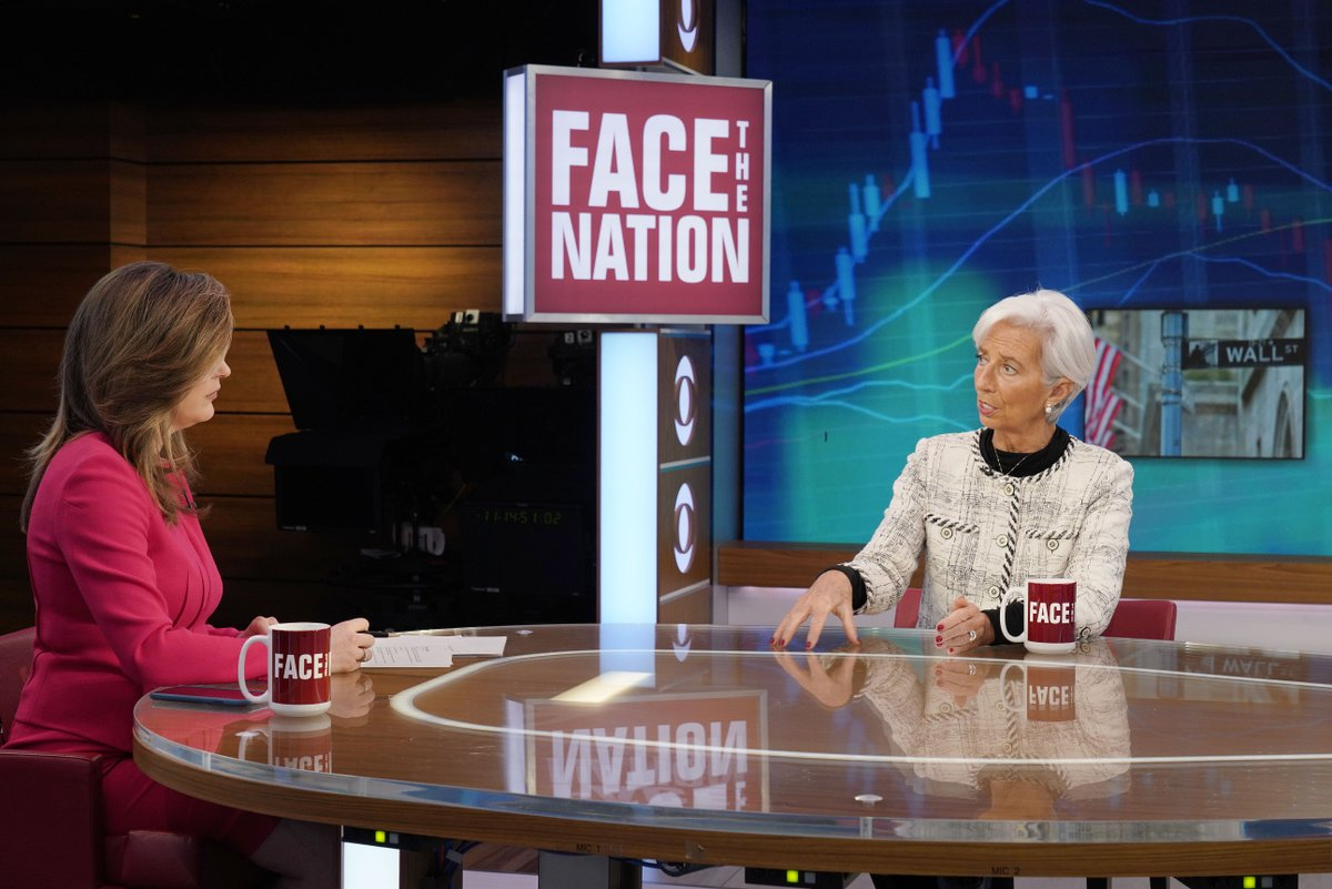 It was good to be on the set of CBS @FaceTheNation this morning with @USTradeRep. Progress in US-China trade negotiations would be good for both countries, and the world. More trade means more growth, more investment, more jobs. https://t.co/xPTK5BhEi8 (Photo: Chris Usher/CBS)