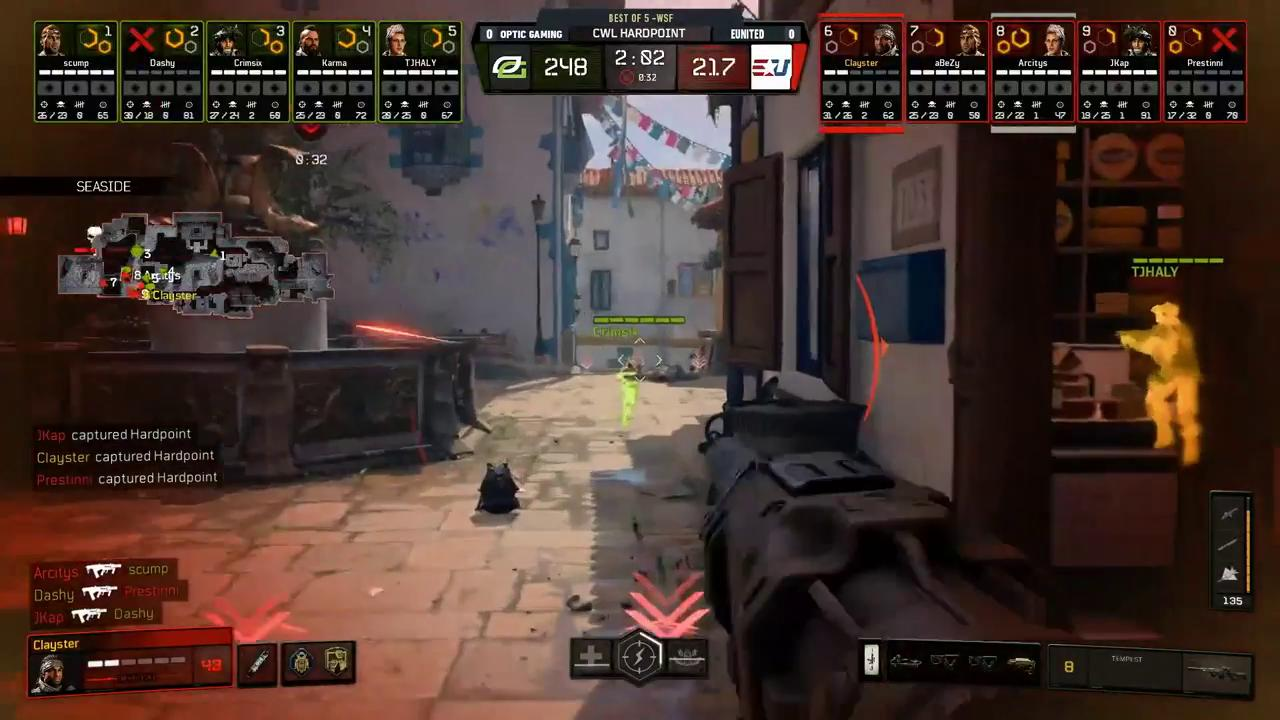 WHAT WAS THIS ENDING?  @OpTicGaming vs. @EunitedGG - GET IN HERE: https://t.co/pUVEvOiNYf  #CWLPS4 https://t.co/Jufua4jNln