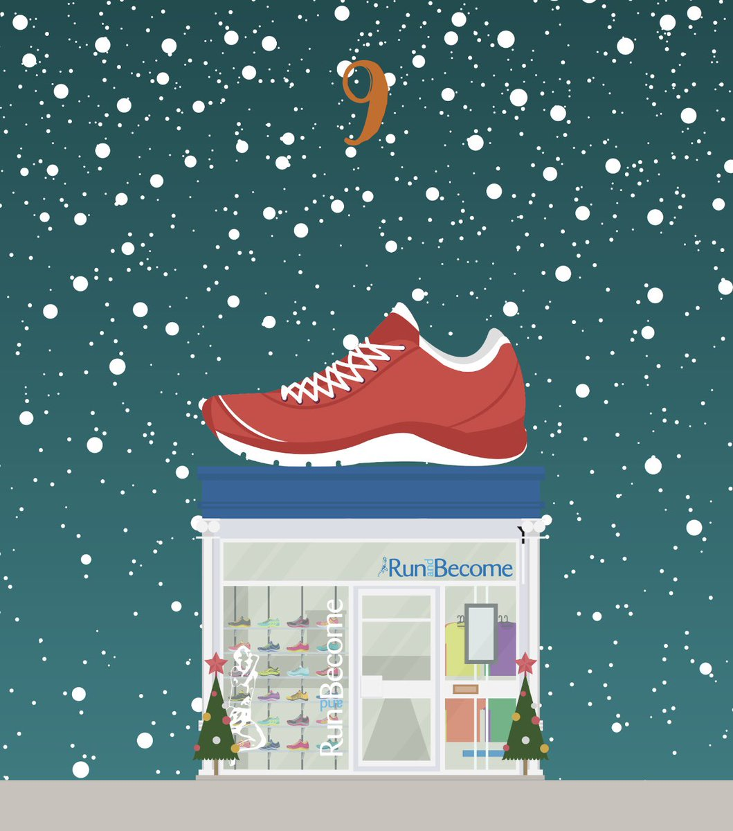 #StepIntoTheWestEnd 🎄✨ It's Day 9 of our Advent Calendar/Stamp Card Competition. Simply spend in store to collect a stamp. Collect 12 out of the 26 stamps to be in the running to win a Christmas Hamper worth over £1,000 (T's and C's apply)  @runandbecome1 🏃🏼‍♀️👟  #hiddengems