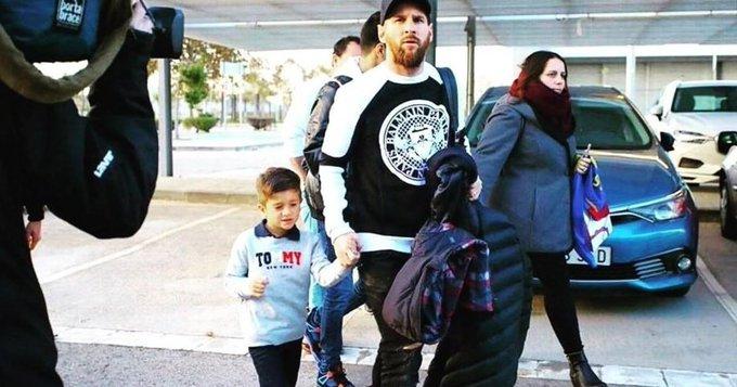 River-Boca: Lionel Messi no se quiso perder la Superfinal Foto