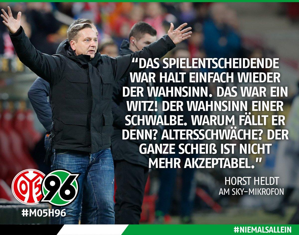 An der Stelle nochmal: Alles Gute zum Geburtstag, Horst! 💩🙈  Das komplette #Heldt-Zitat und weitere Stimmen seht und lest Ihr hier: 👉 https://t.co/n2mdSkE3eq!  #M05H96 #H96 #NiemalsAllein ⚫️⚪️💚