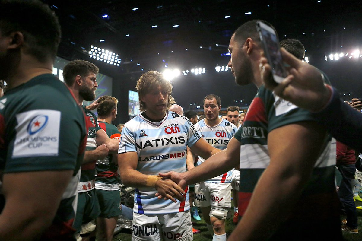 Respect   @LeicesterTigers congrats for a big game !  #RacingFamily #R92LEI https://t.co/iMfBm14ZIE