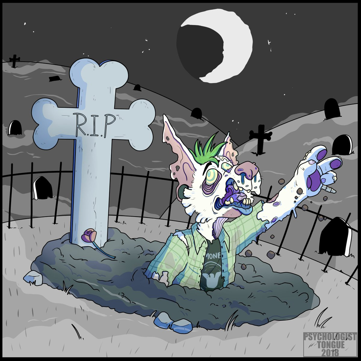 Very excited for #PetSematary  #Fanart #Furry<br>http://pic.twitter.com/R8hFncTf11