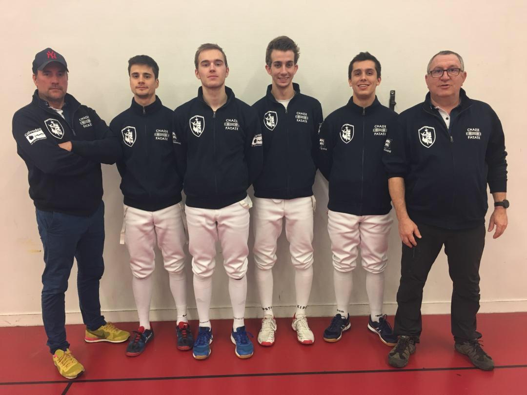 Nationale 2 par équipe
