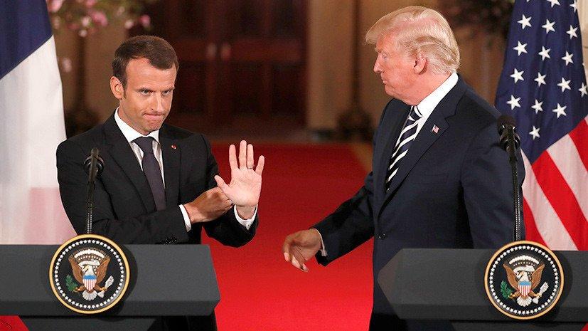 Глава французского МИД попросил Трампа воздержаться от обсуждения протестов «жёлтых жилетов» и «позволить стране жить своей жизнью». Ранее американский лидер предложил Франции отказаться от Парижского соглашения, чтобы снизить цены на топливо https://t.co/9NlGM2Ijso