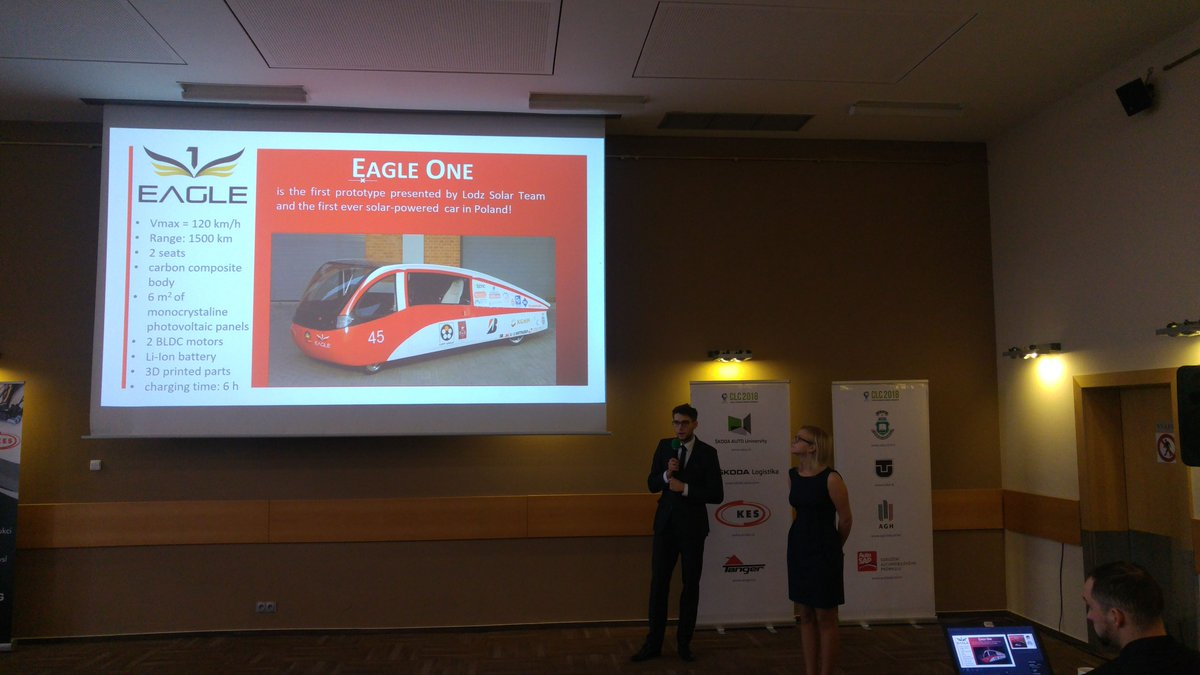 Lodz Solar Team Lodzsolarteam Twitter Power Car Project Energy As A New Renewable Source For Cars He The Example Of Met Really Positive Feedback See You Next Year