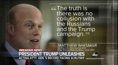 Why Trump appointed Whitaker to be Acting Attorney General: 🔹 hes corrupt & unethical 🔹 hes biased in Trumps favor Thats it. #WhitakerMustRecuse #ProtectMueller #SundayThoughts