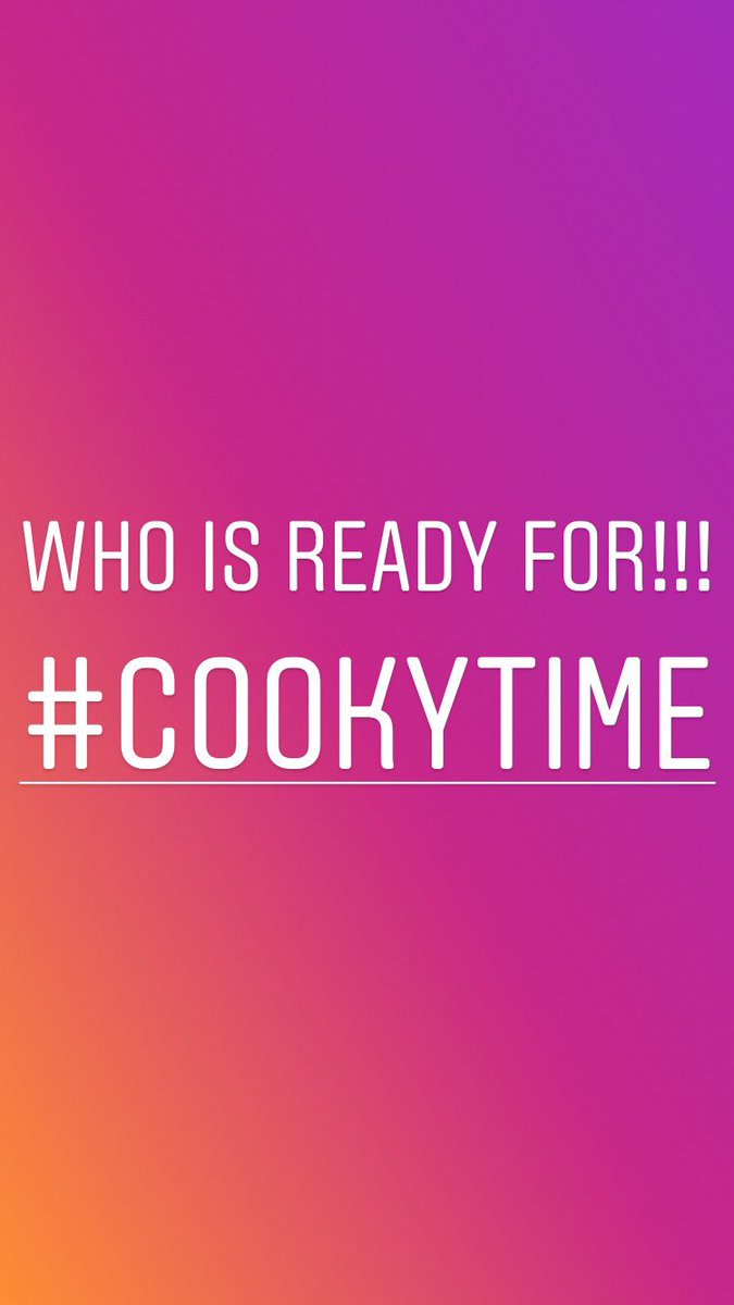 .See you all at 2pm EST in the kitchen!!!    https://t.co/tFsIffy17R