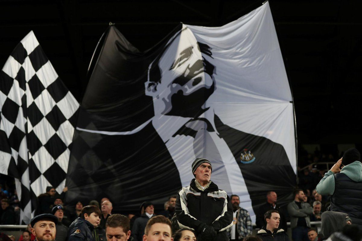 The Toon army is ready  Follow #NEWWOL with Matchday Live: http://preml.ge/xKWEXD