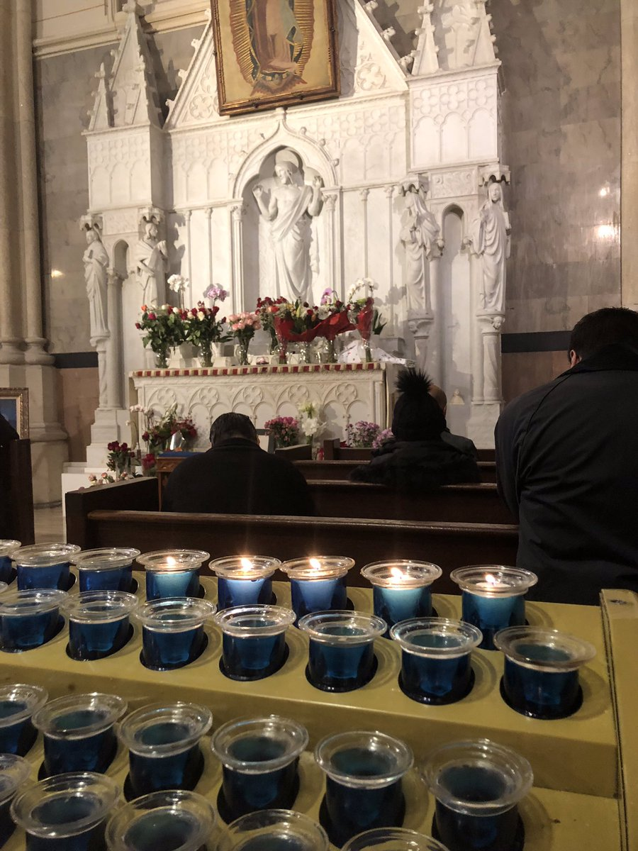 I grieve for 24 hours after a loss so I have a few more hours to go but I went to mass at St. Patrick's Cathedral this morning and lit a row of candles for the #BBN around the world. May this holiday season be your best. Let's all remember to be grateful in good and bad times!!!