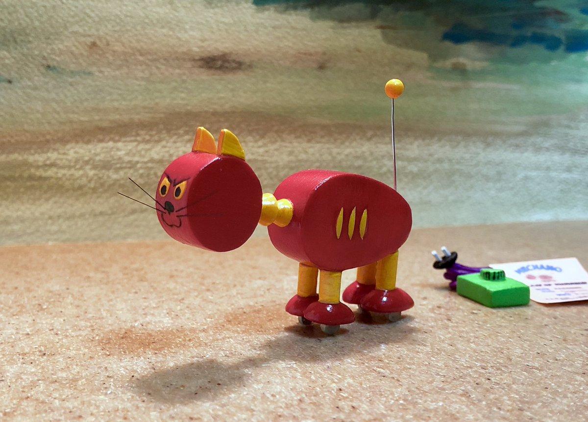 人造ネコ MECHANOをつくりました