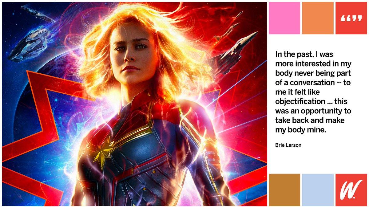 .@captainmarvel star @brielarson discusses her landmark role ➡ https://t.co/jvNp9GXTtC