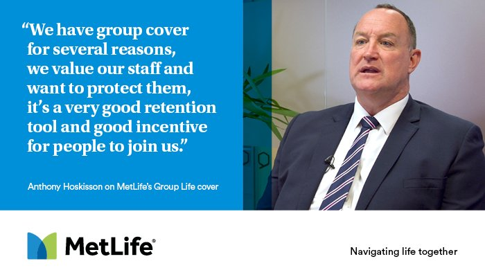 #SmallBusiness can look to strengthen staff loyalty and be there for their #employees during the most difficult times with MetLife's Group Life Cover. https://t.co/f1SYc15Irp https://t.co/I5g2n3hgam
