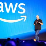 Image for the Tweet beginning: .@werner's, CTO of Amazon #reInvent