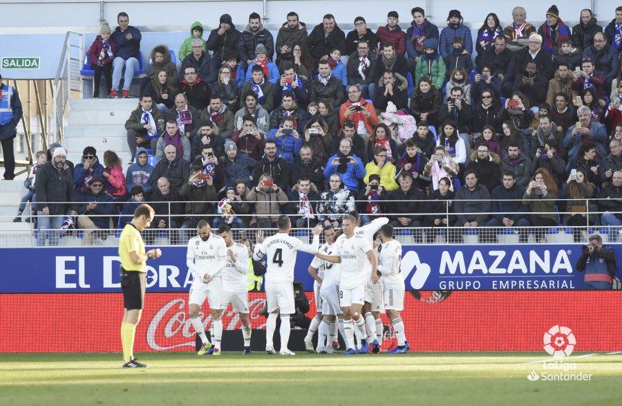 هدف ريال مدريد أمام هويسكا