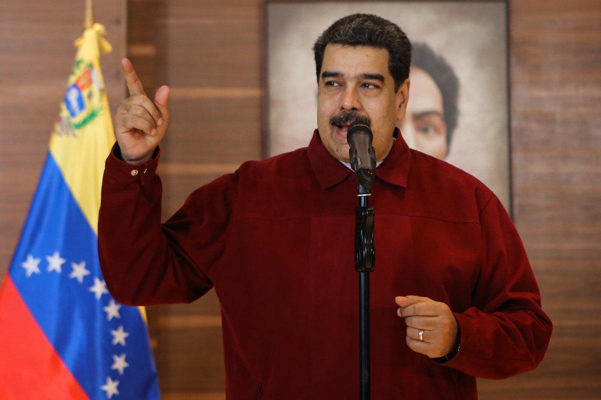 #AHORA Maduro anuncia que en las próximas semanas ofrecerá rueda de prensa para informar sobre un intento de golpe de Estado desde la Casa Blanca  #9Dic https://t.co/GtYgOkFYty