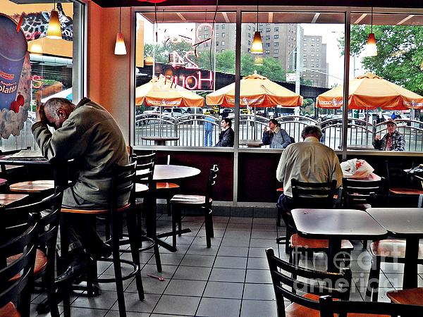 New artwork for sale! - &quot;Sunday Afternoon at Dunkin Donuts&quot; -  https:// fineartamerica.com/featured/sunda y-afternoon-at-dunkin-donuts-sarah-loft.html &nbsp; …  @fineartamerica<br>http://pic.twitter.com/5h9QnRQbKV
