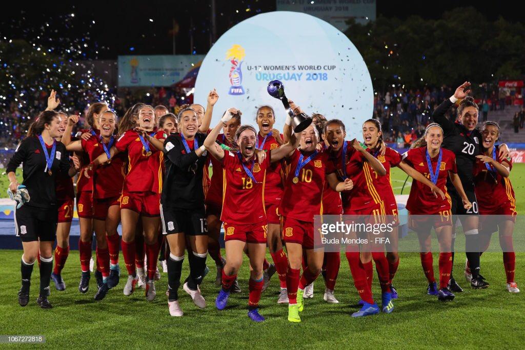 #Maxdeportealdia Campeón U - 17 Women's World Cup #Uruguay2018 #España #U17WWC