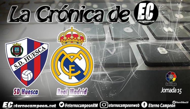 Crónica | SD Huesca 0-1 Real Madrid http://eternocampeon.net/cronica-huesca-0-1-real-madrid… Por: @boticario_81 Diseño: @PatriFdez18 #RMLiga #HalaMadrid #LaLiga