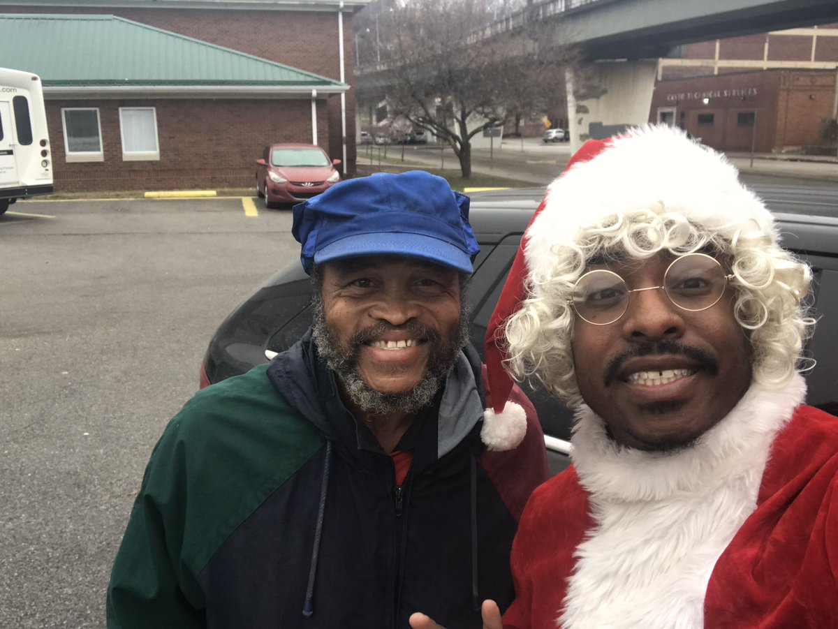Meet Mr. Johnson . I met him at a local mens shelter . Hes been homeless for 5 years . He is also a veteran . I hate to see anyone homeless especially our veterans . Such a humble guy . Thank you for your service Mr. Johnson